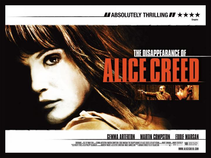 Film Fix Extra: THE DISAPPEARANCE OF ALICE CREED first five minutes!