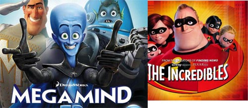 MEGAMIND is Mega-Average: Where's THE INCREDIBLES 2 when we need it?