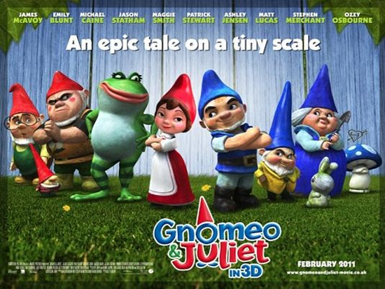 Review: GNOMEO & JULIET