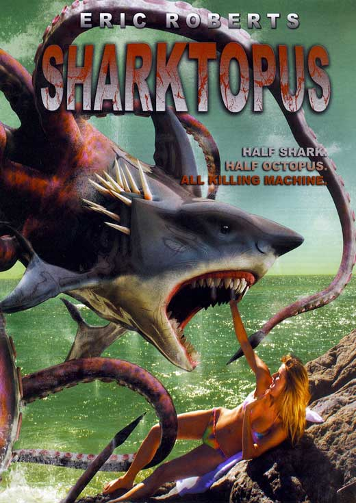 Daily Dose: SHARKTOPUS on DVD!