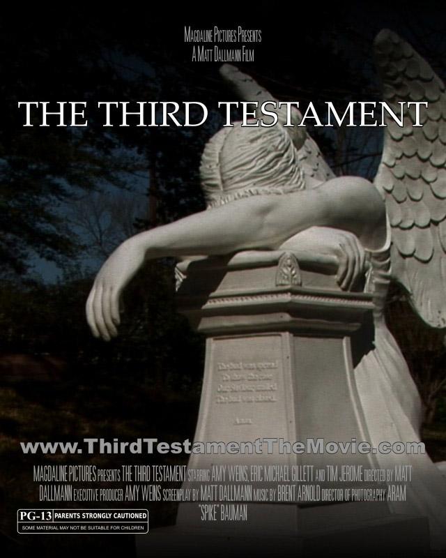 Daily Dose: Filmmaker Matt Dallmann on THE THIRD TESTAMENT