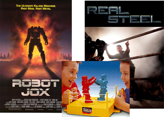 Daily Dose: REAL STEEL Rock EM Sock EM Robot Jox Redux?