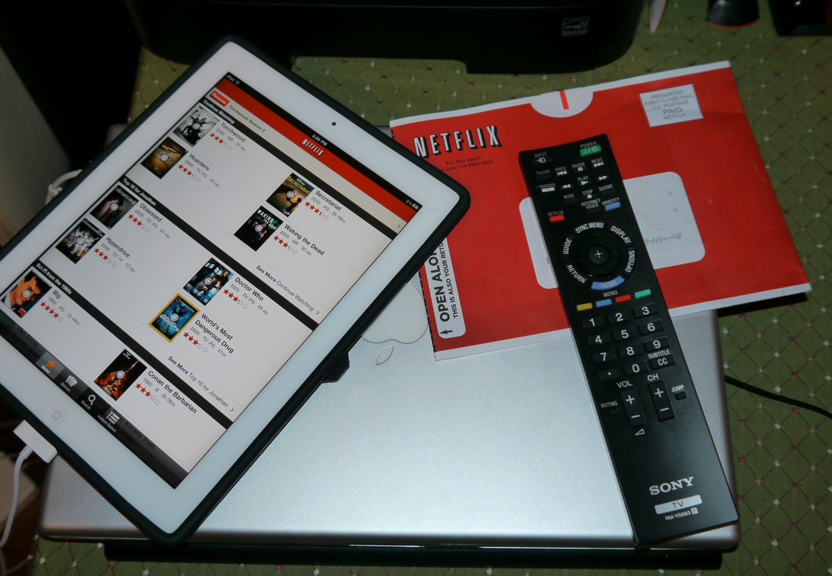 Daily Dose: Netflix dvd service goes out of business, well, kinda…