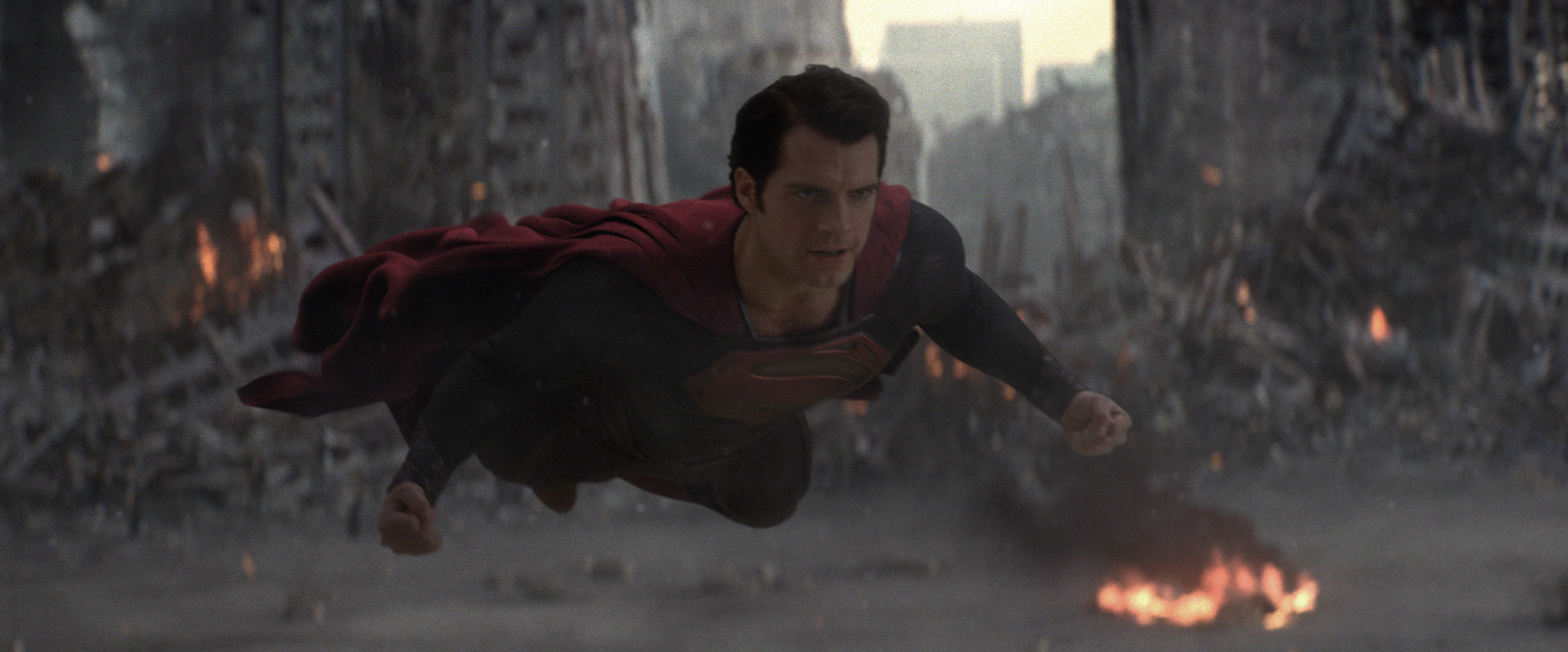 MAN OF STEEL: The great Father's Day massacre!